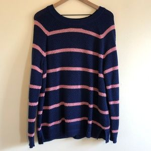 Old Navy Striped Pull-Over Sweater